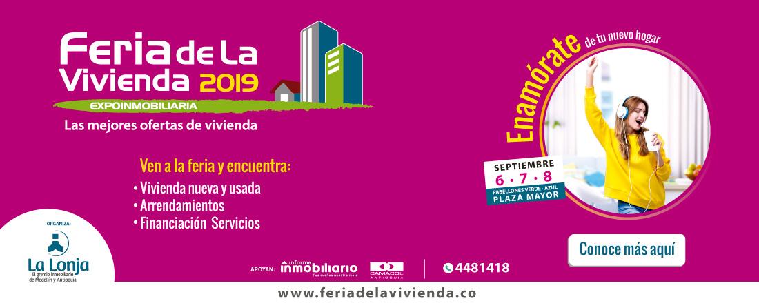 No te pierdas la Feria de la Vivienda Expoinmobiliaria