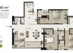 Plano-130.90-m2 Alameda