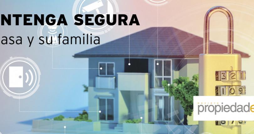 Mantenga segura su casa y su familia