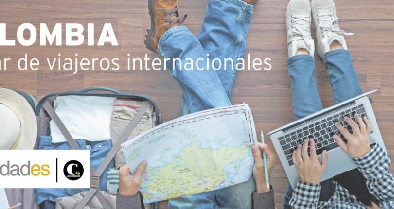 COLOMBIA, hogar de viajeros internacionales