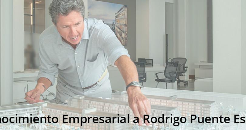Reconocimiento Empresarial a Rodrigo Puente Escallón